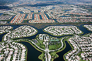 Weston is a planned community that obtains water from a complex drainage system, which then sends the runoff to the Everglades and nearby lakes.