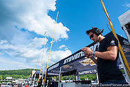 #23 Team Seattle/Alex Job Racing Porsche 911 GT America: Ian James, Mario Farnbacher