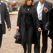 NLD/Utrecht/20060414 - Uitvaart Wout van Doleweerd, Rachel Hazes en ouders