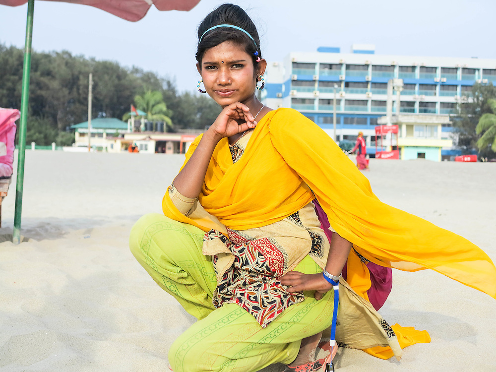 About the photographer: Shobe Majaraz is 12 years old, and makes and sells jewellery on the beach to help support her family. She is the fastest runner and is often challenging the boys for a race on the beach. She is also the best jump-roper and is eager to try and be the best at every sport.