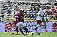 Gol Erick Pulgar Bologna Goal celebration <br /> Bologna 31-03-2018 Stadio Dall'Ara Football Calcio Serie A 2017/2018 Bologna - AS Roma. Foto Andrea Staccioli / Insidefoto