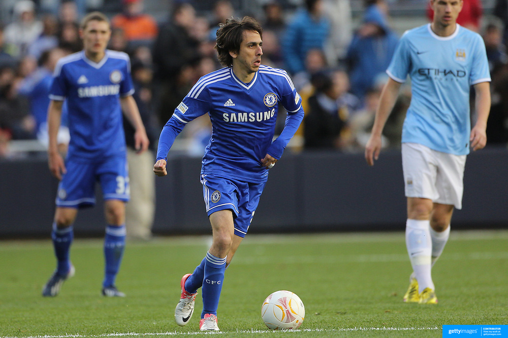 Yossi Benayoun, Chelsea, in action during the Manchester City V Chelsea friendly exhibition match at Yankee Stadium, The Bronx, New York. Manchester City won the match 5-3. New York. USA. 25th May 2012. Photo Tim Clayton