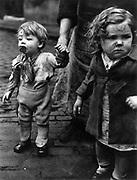 Children in Sheffield, 1930