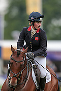 CEYLOR L A N ridden by Kitty King competing in the show jumping at Bramham International Horse Trials 2016 at  at Bramham Park, Bramham, United Kingdom on 12 June 2016. Photo by Mark P Doherty.