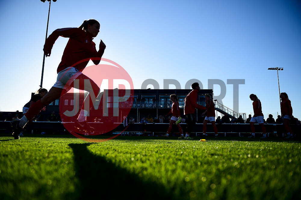 Gemma Evans of Bristol City prior to kick off - Mandatory by-line: Ryan Hiscott/JMP - 19/01/2020 - FOOTBALL - Stoke Gifford Stadium - Bristol, England - Bristol City Women v Liverpool Women - Barclays FA Women's Super League