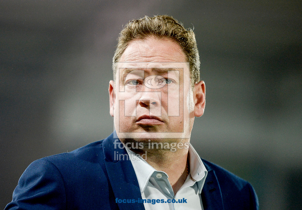 Manager Leonid Slutsky of Hull City before the Sky Bet Championship match at the KCOM Stadium, Hull<br /> Picture by Matthew Usher/Focus Images Ltd +44 7902 242054<br /> 26/09/2017