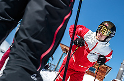 02.04.2018, Skizentrum Hochzillertal, Kaltenbach, AUT, JumpandReach Skitag, im Bild Michael Hayboeck // during the Skiing Day after the Winterseason with the Austrian JumpandReach Athletes at the Skiresort Hochzillertal, Austria on 2018/04/02. EXPA Pictures © 2018, PhotoCredit: EXPA/ JFK