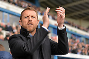 Birmingham City manager Gary Rowett during the Sky Bet Championship match between Reading and Birmingham City at the Madejski Stadium, Reading, England on 9 April 2016. Photo by Mark Davies.