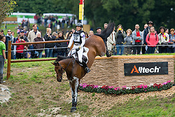 Ingrid Klimke, (GER), FRH Escada JS - Eventing Cross Country test - Alltech FEI World Equestrian Games™ 2014 - Normandy, France.<br /> © Hippo Foto Team - Leanjo de Koster<br /> 31/08/14