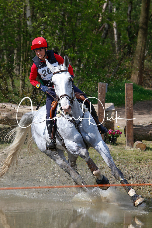 Vandenzavel Sarah, BEL, Ito van het Panishof<br /> Nationale LRV-Eventingkampioenschap Ponies Minderhout 2017<br /> &copy; Hippo Foto - Kris Van Steen<br /> 30/04/17
