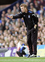 Photo: Paul Thomas.<br /> Everton v Middlesbrough. The Barclays Premiership.<br /> 06/11/2005.<br /> <br /> Everton manager David Moyes.