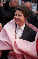 Actress and President of the Un Certain Regard Jury Isabella Rossellini at the gala screening for the film Macbeth at the 68th Cannes Film Festival, Saturday 23rd May 2015, Cannes, France.