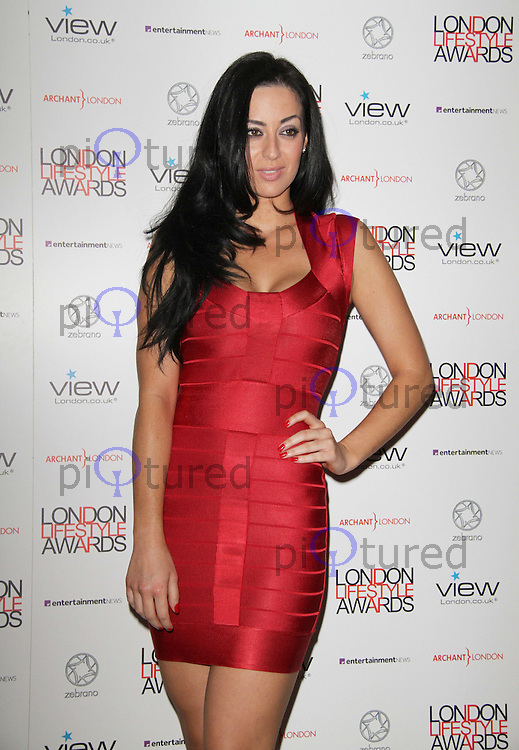 Maria Kouka London Lifestyle Awards, Park Plaza Riverbank Hotel, London, UK. 06 October 2011. Contact: Rich@Piqtured.com +44(0)7941 079620 (Picture by Richard Goldschmidt)