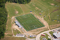 AstroTurf field aerial Image of Annapolis High School in Maryland by Jeffrey Sauers of Commercial Photographics, Architectural Photo Artistry in Washington DC, Virginia to Florida and PA to New England