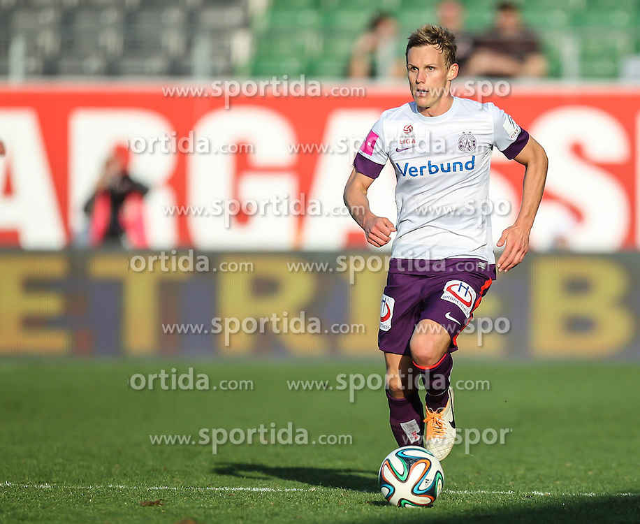 30.03.2014, Keine Sorgen Arena, Ried im Innkreis, AUT, 1. FBL, SV Josko Ried vs FK Austria Wien, 30. Runde, im Bild Thomas Salamon, (FK Austria Wien, #35) // during Austrian Football Bundesliga Match, 30th round, between SV Josko Ried and FK Austria Wien at the Keine Sorgen Arena, Ried im Innkreis, Austria on 2014/03/30. EXPA Pictures © 2014, PhotoCredit: EXPA/ Roland Hackl