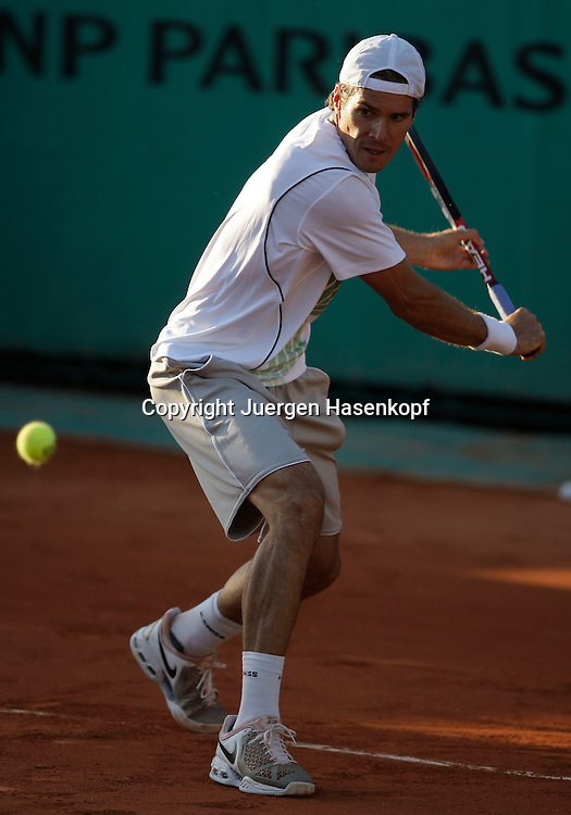 French Open 2009, Roland Garros, Paris, Frankreich,Sport, Tennis, ITF Grand Slam Tournament,  <br /> <br /> Tommy Haas (GER).<br /> <br /> Foto: Juergen Hasenkopf