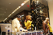 DJ Sipha Sounds at The Sean John Boutique on Fifth Ave on September 10, 2009  in New York City