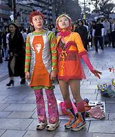 photo ©Tom Wagner/Saba Corbis<br /> Street fashion in tokyo; Harajuku area of Tokyo