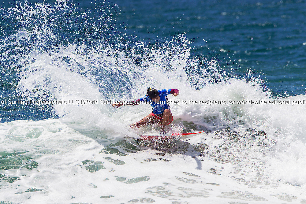 HUNTINGTON BEACH, CA, USA - Thursday July 30th 2015 -  Silvana Lima (BRA) finished equal 5th at the Vans US Open of Surfing today. <br /> Image: &copy; WSL/Rowland<br /> Photographer: Rowland<br /> Social Media: @wsl @nomadshotelsc<br /> This Image is the Copyright of the World Surf League. It is for editorial use only. No commercial rights granted.