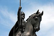 King Tomislav statue, by Robert Frangeš Mihanović, Zagreb, Croatia © Rudolf Abraham