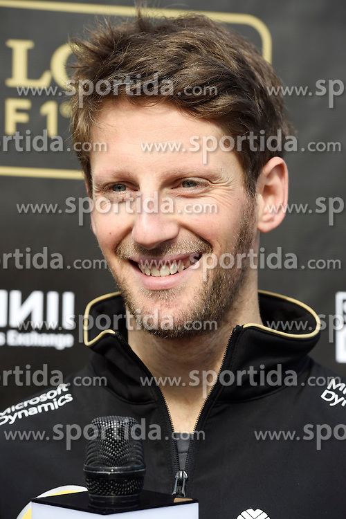 27.02.2015, Circuit de Catalunya, Barcelona, ESP, FIA, Formel 1, Testfahrten, Barcelona, Tag 2, im Bild Romain Grosjean (FRA) Lotus F1 // during the Formula One Testdrives, day two at the Circuit de Catalunya in Barcelona, Spain on 2015/02/27. EXPA Pictures &copy; 2015, PhotoCredit: EXPA/ Sutton Images/ Mark Images<br /> <br /> *****ATTENTION - for AUT, SLO, CRO, SRB, BIH, MAZ only*****