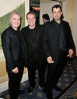 L to R Douggie Souness, Stuart Worthington and Jake Beaumont-Nesbitt
