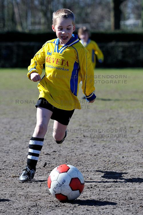 19-03-2011 VOETBAL: INTERNE COMPETITIE VV MAARSSEN: MAARSSEN<br /> Manchester United<br /> &copy; Ronald Hoogendoorn Photography