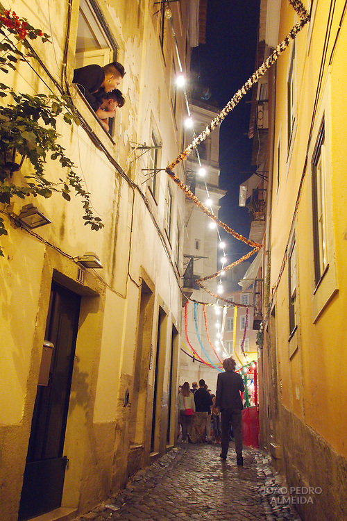 Santo Antonio festivities at Alfama that happen through the whole month of June.