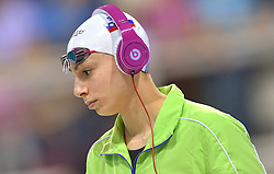 04-04-2015 NED: Swim Cup, Eindhoven<br /> Tjasa Pintar SLO, 100m freestyle<br /> Photo by Ronald Hoogendoorn / Sportida
