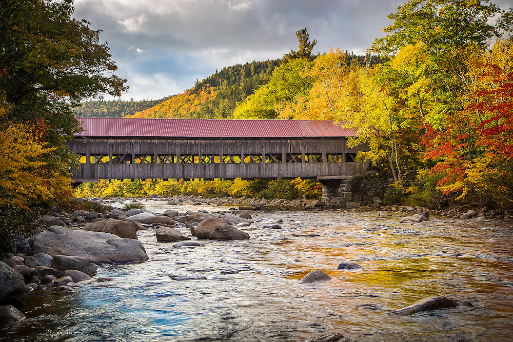 After the crazy trek to Chocorua, I actually backtracked towards Franconia Notch after sunrise to capture some of the amazing sights along the way. I love Maine, but New Hampshire is pretty awesome, too!