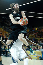 02.09.2014, City Arena, Bilbao, ESP, FIBA WM, USA vs Neuseeland, im Bild New Zealand's Casey Frank // during FIBA Basketball World Cup Spain 2014 match between USA and New Zealand at the City Arena in Bilbao, Spain on 2014/09/02. EXPA Pictures © 2014, PhotoCredit: EXPA/ Alterphotos/ Acero<br /> <br /> *****ATTENTION - OUT of ESP, SUI*****