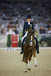 Kemmer Heike (GER) - Royal Rubin<br /> CDI-W Mechelen 2008<br /> Photo © Dirk Caremans