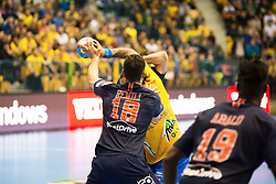 Nedim Remili during handball match between RK Celje Pivovarna Lasko (SLO) and Paris Saint-Germain HB (FRA) in VELUX EHF Champions League 2018/19, on February 24, 2019 in Arena Zlatorog, Celje, Slovenia. Photo by Peter Podobnik / Sportida