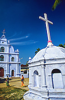 Our Lady of Life Church (Catholic), Kochi (Cochin), Kerala, India