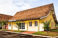Casa do Milho no Parque de Exposições Rovilho Bortoluzzi. Xanxerê, Santa Catarina, Brasil. / <br /> Corn House at Rovilho Bortoluzzi Exposition Park. Xanxerê, Santa Catarina, Brazil.