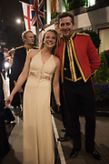 JULIET IRVINE-FORTESCUE, CHARLES MARLOW, The Royal Caledonian Ball 2017, Grosvenor House, 29 April 2017