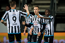 Reuven Niemeijer of Heracles Almelo 1-0 during the Dutch Eredivisie match between Heracles Almelo and FC Groningen at Polman stadium on November 04, 2017 in Almelo, The Netherlands
