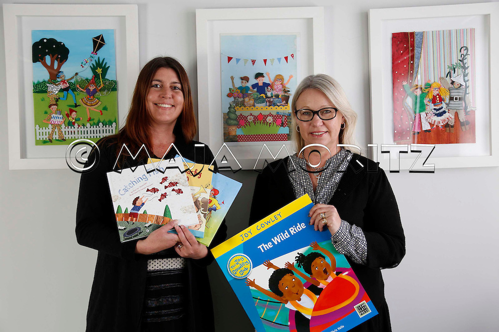 Frances McBeath (left), Publishing and Sales Director, and Sandy Roydhouse, Business Director, of Clean Slate Press, Auckland, New Zealand