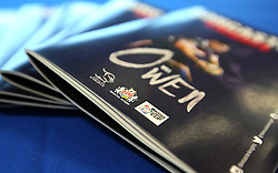 Match day programmes for Doncaster Knights v Bristol Rugby in the B&I Cup - Mandatory by-line: Robbie Stephenson/JMP - 13/01/2018 - RUGBY - Castle Park - Doncaster, England - Doncaster Knights v Bristol Rugby - B&I Cup