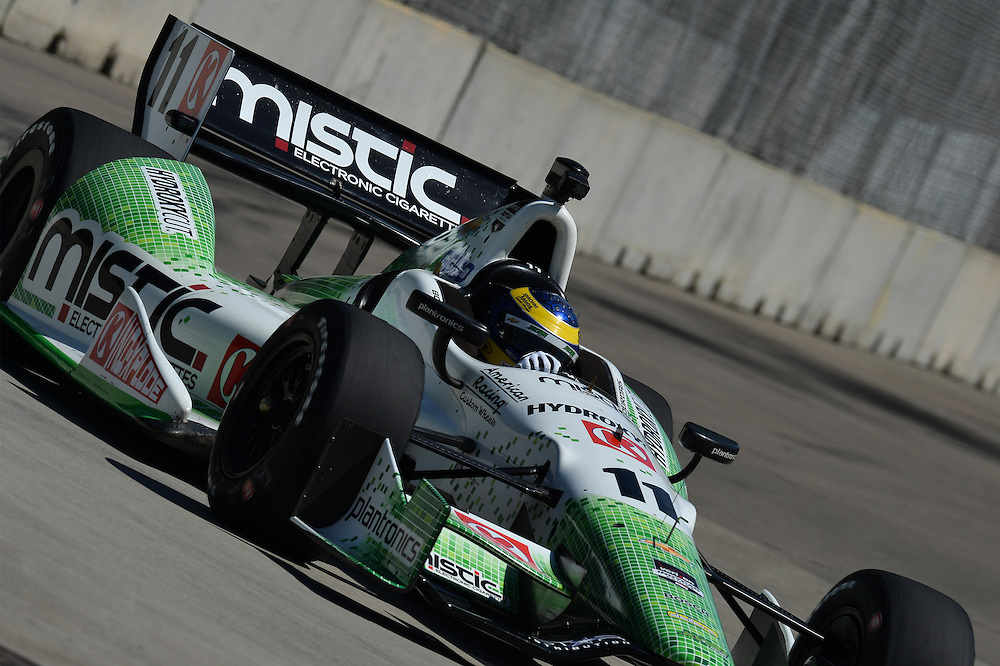 Sebastien Bourdais, The Raceway at Belle Isle Park, Detroit, MI USA 6/1/2014