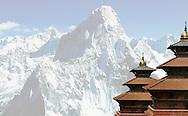 Buddhist temple in Kathmandu, Nepal