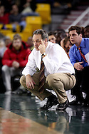 11/22/2006 - Anchorage, Alaska: Alaska-Anchorage head coach Rusty Osborne as Loyola Marymount defeats the University of Alaska-Anchorage 69-58 in the first game of the 2006 Great Alaska Shootout<br />