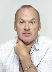 July 24, 2017 - Hollywood, California, U.S. - MICHAEL KEATON promotes the movie 'American Assassin.' Michael John Douglas (born September 5, 1951 Pennsylvania), known professionally as Michael Keaton, is an American actor, producer, and director. Keaton first rose to fame for his comedic film roles in Night Shift (1982), Mr. Mom (1983), Johnny Dangerously (1984) and Beetlejuice (1988), and he earned further acclaim for his dramatic portrayal of the title character in Batman (1989) and Batman Returns (1992). Keaton's critically praised lead performance in Birdman (2014) earned him a Golden Globe Award for Best Actor in a Musical or Comedy, the Critics' Choice Award for Best Actor and Best Actor in a Comedy, and nominations for the Screen Actors Guild Award, British Academy Film Award, and Academy Award for Best Actor. (Credit Image: © Armando Gallo via ZUMA Studio)