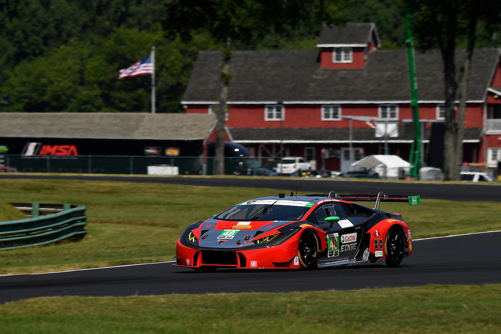26-28 August, 2016, Alton, Virginia USA<br /> 48, Lamborghini, Huracan GT3, GTD, Bryan Sellers, Madison Snow<br /> &copy;2016, Scott R LePage <br /> LAT Photo USA