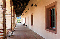 Mission San Antonio de Padua Hallway, Monterey County, California