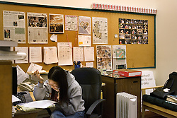Stanford after dark. Stanford editor, Cynthia H. Cho, 05. Coke cans are all that she has consumed during her time at the Daily this semester.