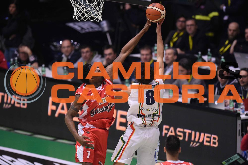 Jalen Reynolds<br /> Grissin Bon Pallacanestro Reggio Emilia - Betaland Capo d Orlando<br /> Poste Mobile Final Eight F8 2017 <br /> Lega Basket 2016/2017<br /> Rimini, 16/02/2017<br /> Foto Ciamillo-Castoria