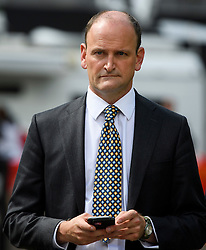 © Licensed to London News Pictures. 24/06/2016. London, UK. UKIP MP DOUGLAS CARSWELL speaking to media in Westminster, London on the day that the UK voted to leave the EU in a referendum. Photo credit: Ben Cawthra/LNP