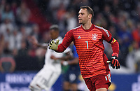 FUSSBALL UEFA Nations League in Muenchen Deutschland - Frankreich       06.09.2018 Torwart Manuel Neuer  (Deutschland) --- DFB regulations prohibit any use of photographs as image sequences and/or quasi-video. ---