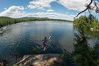 Squam Lake, New Hampshire.  © Karen Bobotas Photographer